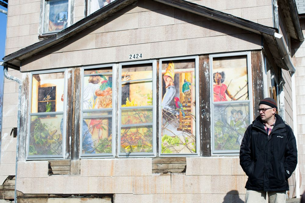 Art and community meet-up in artist's public projects; Watie White mines urban tales (2/6)