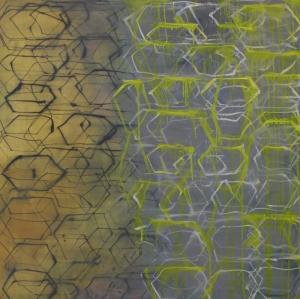 "Cache, 48"" x 48"" Oil on Canvas 2013"