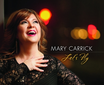 "Mary Carrick album cover for ""Let's Fly"""