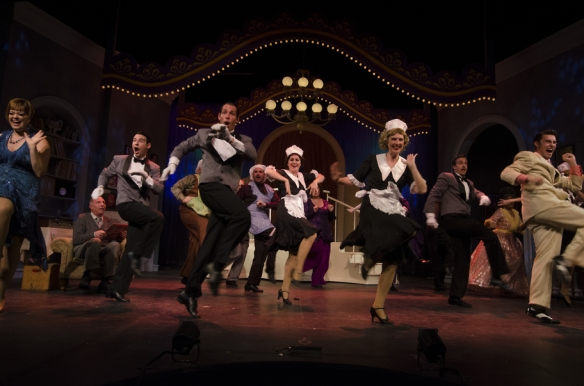The Drowsy Chaperone at Omaha Community Playhouse.  Photo by  Christian Robertson